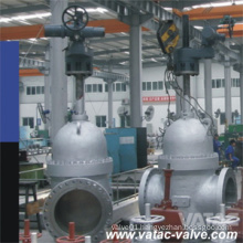 Electric Actuator Expanding Gate Valve