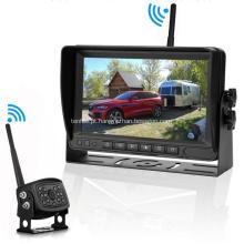 Monitoramento de veículos Estacionamento Câmera de ré e sistema de monitor Digital Wireless