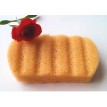 Губка для ванны 100% натуральные овощи Конжак Губка для очищения тела Любимый ребенок