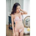 OEM hot selling push up sexy embroidered comfortable women bra and panty set