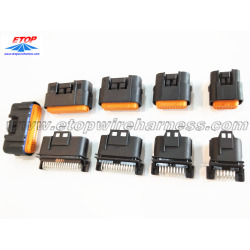 Local auto ECU sealed waterproof connectors for automobile / motorcycles