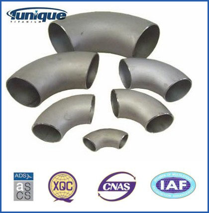 Customized Titanium Elbow for chemical