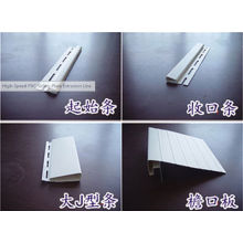 Linha de extrusão de placa de revestimento de vinil plástico