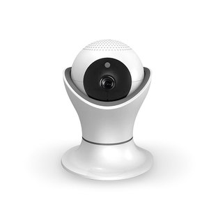 Pan Tilt Security CCTV Cámara IP Visión nocturna