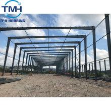 almacén de planta de estructura de acero de estructura metálica ensamblado rápido