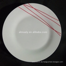 chinesische Keramikplatte, Standard Teller Größe, hochwertige Porzellanplatte