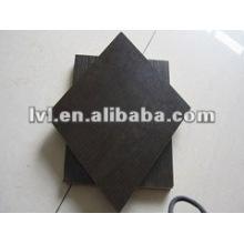 Черная меламиновая плита с лицевой панелью1220 * 2440