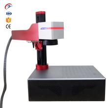 Machine de marquage laser à fibre de bureau portable en métal