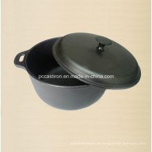 8.0L Preseasoned Gusseisen Holländischer Ofen Dia 30cm