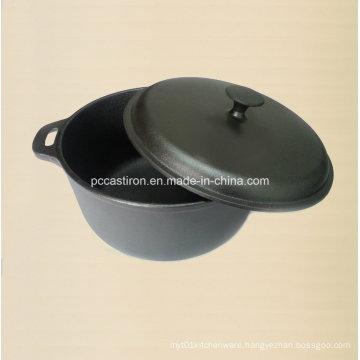 8.0L Preseasoned Cast Iron Dutch Oven Dia 30cm