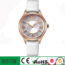 Leather Strap Fashion Bussiness Thin Women Watch