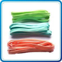 Custom Any Colors Fabric Shoelace From Made in China