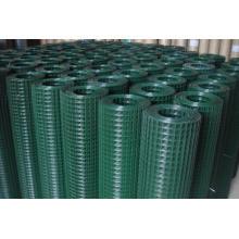 Acoplamiento de alambre soldado revestido PVC de la venta caliente