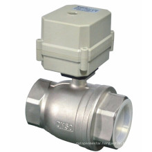 """Good Sealing 2"""" Aurtomatic Stainless Steel Electric Motorized Water Ball Valve (T50-S2-C)"""