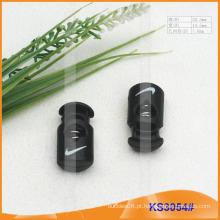 Rolha de nylon cabo ou alternar para vestuário, bolsas e sapatos KS3054 #