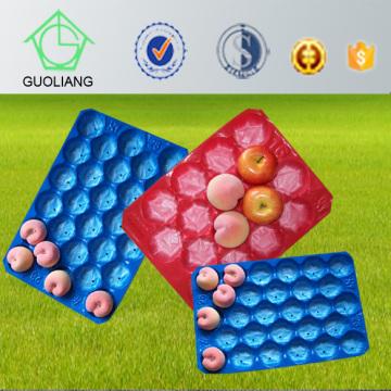 Plateau d'emballage empilable de fruit et de légumes de supermarché d'affichage de supermarché