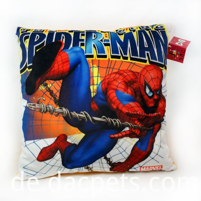 stuffed spiderman cushion