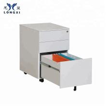 Mingxiu Free Shipping Steel Cabinet 3 Drawer Kd Steel Mobile Cabinet