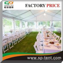 18x20 500 Sitzplätze Freistehendes Rahmenzelt mit Tischen und Stühlen für heißen Verkauf