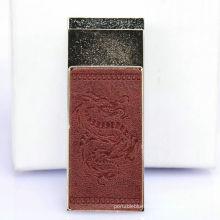Fur Skin Usb Metal Rechargeable Cigarette Lighter, Cigar Lighter, Auto Cigarette Lighter