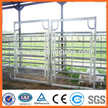 steel tube corral fencing panels/galvanized pipe horse fence panels/metal livestock farm fence panel