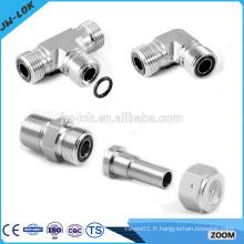 Raccords de tubes hydrauliques à haute pression soudés bout à bout