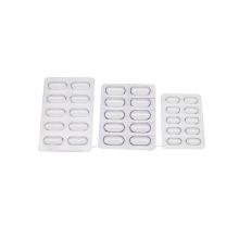Капсулы из ПВХ прозрачного лотка в блистерной упаковке для таблеток