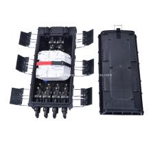 Caja de empalmes de fibra óptica en línea de resistencia a la corrosión 6 entradas 8 salidas