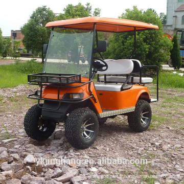 Chariot de golf de patrouille de 2 + 2 places à vendre