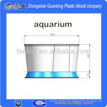 réservoir de poissons d'aquarium importés de moule en plastique