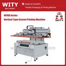 Máquina de impresión de pantalla vertical tipo