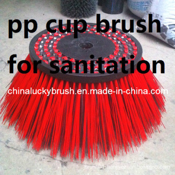 PP Wire Cup Brush for Environmental Sanitation Machine (YY-338)