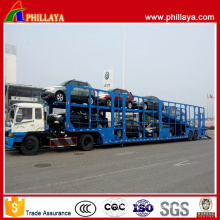 Van Skeleton Car Transport Semi Trailer Air Suspension