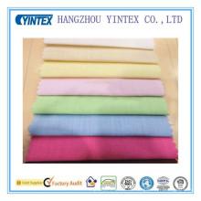 Tela de Spandex sólida del algodón de Deyed para los textiles caseros