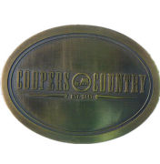 Custom Metal Belt Buckles And Crafts For Souvenir With Antique Brush Engraved Logoth-388