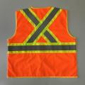 Veste de sécurité réfléchissante couleur contrastante Canada CSA Z96 avec ruban adhésif réfléchissant