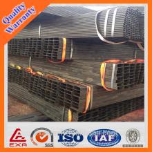 ASTM A315-B Tubo cuadrado cuadrado de hierro negro asiático
