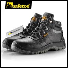 Zapatos de seguridad del nuevo modelo, botas de trabajo de cuero ISO 9001, Boot de seguridad antideslizante resistente al aceite