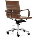 Medium Back White Eamse Stuhl Drehstuhl Bürostuhl (FOH-MF11-B09)