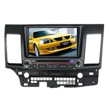 Ajuste de 2DIN coches reproductor de DVD para Mitsubishi Lancer 2006-2013 con el Radio Bluetooth estéreo TV GPS sistema de navegación