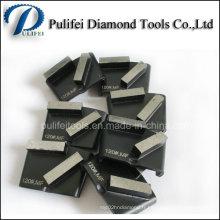 Tampon de meulage de diamant de machine de plancher en béton d'Abrasve de pierre