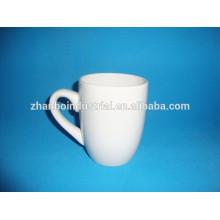Tasses en céramique blanche à bas prix en gros