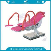 AG-S105C Motorisierte Krankenhaus geburtshilfliche Untersuchung Stuhl für Gynae Prüfung