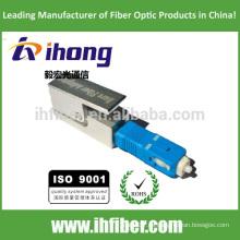 SC UPC cuadrado adaptador de fibra óptica desnuda