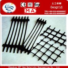 Geogrelha Plástica Usada na Proteção da Inclinação do Steepening