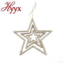 Decoración de árbol de Navidad de color personalizado de alta calidad HYYX