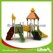 Lala Forest Series baby outdoor playground slides en plastique à vendre LE.LL.004