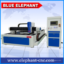 machine de découpage de laser de fibre, prix de machine de laser en métal, découpeuse de laser d'acier inoxydable avec la vidéo