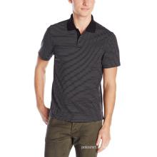 Полосатой рубашке Оптовая продажа OEM пользовательские мода мужская Поло