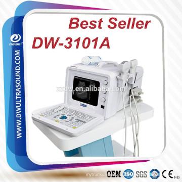 Escáner ultrasónico más popular y escáner ultrasónico B / W DW-3101A